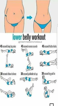 Lower belly workout, perfect for my mum belly