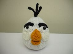 Ravelry: Angry Birds - White Bird pattern by Adorable Amigurumi