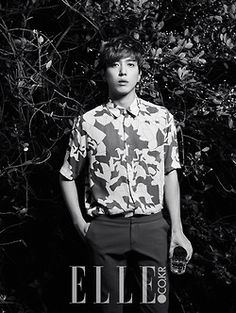C.N Blue - Elle Magazine March Issue '14