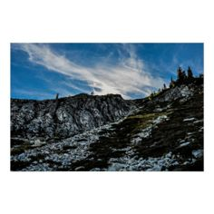 Maple Pass Loop Rocks Posters