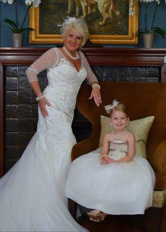 Nana & Granddaughter 💞 #myworld #princess #jcrew #davidsbridal #galinasignature #coach
