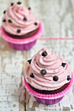 Kakaolu Muffin  www.hayatcafetarifleri.com