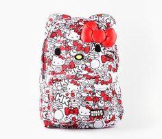 Hello Kitty Backpack: Milk $45