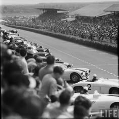 Start of the 1953 Le Mans 24 Hours race