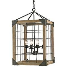 Eufaula Pendant   Add a rustic-chic touch to any room  $895