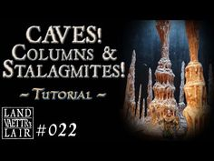 Crafting Cave Stalagmites and Columns (tutorial) for Tabletop RPG Wargaming Terrain, Build Something, Tabletop Rpg, Columns, Craft Tutorials, Dungeons And Dragons, Cave, Crafting, Miniatures