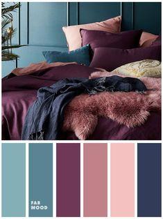 Palette Design, Bedroom Colour Palette, Bedroom Color Schemes, Bedroom Colors, Home Decor Bedroom, Cozy Bedroom, Bedroom Ideas, Ikea Bedroom, Bedroom Inspiration