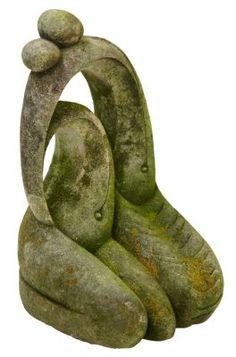 Karen Grannell Stone Sculpture, Two Figures