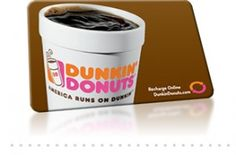 dunkin donuts gift card since I go there like 3 times a day pleazzzzze