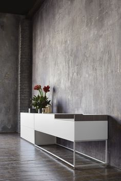 LACQUERED MDF SIDEBOARD INMOTION COLLECTION BY MDF ITALIA | DESIGN NEULAND INDUSTRIAEDESIGN
