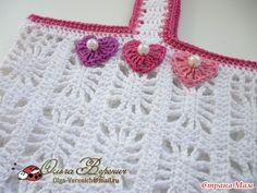 Crochet Knitting Handicraft: A blouse girl