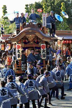 Yachimata Festival, Chiba, Japan