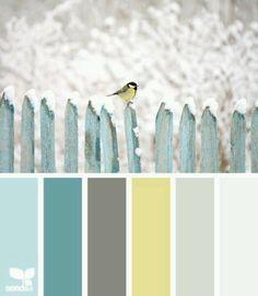 Волшебное сочетания цветов #цветовая палитра #цветовыеоттенки Magic combination of colors #colorpalettes