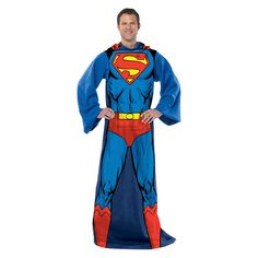 "Superman Comfy Throw (46""x71""),"