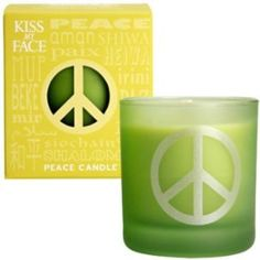 I'm learning all about Kiss My Face Peace Candle Lemongrass Clary Sage at @Influenster!