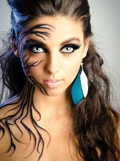 11 Pinterest Halloween Makeup Tutorials to Try | Mother earth ...