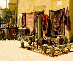 Rugs and wares. Baku, Azerbaijan