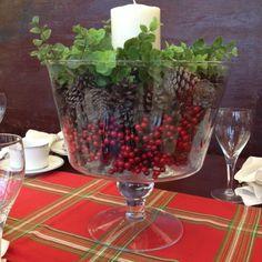 Trifle Bowl Decorations Fall Popcorn Votive Candles & Pumpkin Centerpieces  Recipe