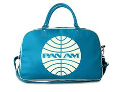 Welcome Aboard- The Pan Am Experience at the 2013 Palm Springs Modernism Week Pan Am, Nautical Terms, Hand Luggage, Old Postcards, Travel Bags, Traveling By Yourself, Gym Bag, Aviation, Turquoise