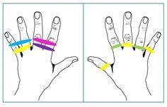 Rekkers en vingers kaart 3