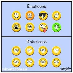 Botoxicons, haha. #botox #cosmeticdermatology