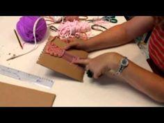 Cómo hacer un telar para niños de Educación Primaria - YouTube