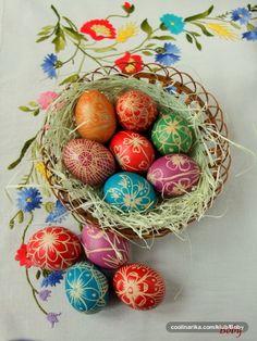 Croatian Easter Eggs (Pisanice)