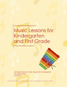 So La Mi: Elementary Music Class : A Year of Lessons!