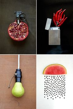 Sarah Illenberger - playing with food.