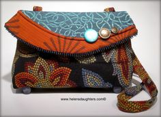 Helen's Daughters Studio: Cool Boo Make A Handbag A Day Challenge - #7 -#13....
