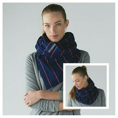 NWT Lululemon Vinyasa Scarf *Rulu NWT & SOLD OUT Lululemon Vinyasa Scarf *Rulu in Sailor Stripe Blue Hero Alarming. (Navy / Orange Stripes) The possibilities are (nearly) endless with this cozy, customizable circle scarf. We made it with snaps so it could be a little bit of everything: a scarf, a wrap, a shrug, a hood ? you name it! Designed with soft, sweat-wicking and stretchy fabric, it's perfect for warming up, cooling down and extra-long walks home. Watch Lululemon's video tutorial…