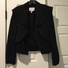 It's black bcbgeneration jacket Excellent condition black bcbgeneration jacket. Size xs BCBGeneration Jackets & Coats