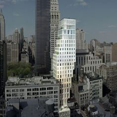 23east22nd-street_day-hero-shot-from-south_finalsq.jpg Office for Metropolitan Architecture last week unveiled designs for a 24-storey residential tower in New York