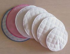 EA Nursing Breast Pads in 3 Size