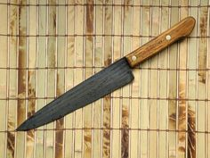 Old Kitchen Chef's Knife Ontario Knife Company Old Hickory Tru Edge Carbon Blade #OldHickory
