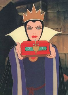 Evil queen from Snow White and the 7 Dwarfs