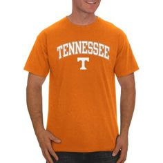 Ncaa Tennessee Volunteers, Big Men's Classic Cotton T-Shirt, Size: 2XL, Orange