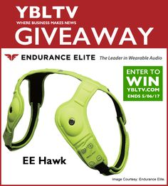 Help me win #enduranceelite #wearabletech #audio #speaker system #giveaway Listen to #music #handsfree #running #hiking #cycling #marathon!
