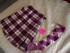 Kilt & hose (not on dancer) #menzies #pink #tartan