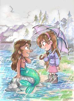 Mabel and Mermando