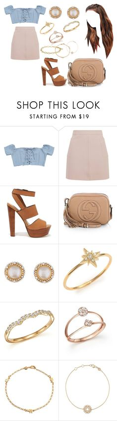 """But we're here to stay"" by moonlightbabby ❤ liked on Polyvore featuring Topshop, Steve Madden, Gucci, Chanel, mizuki, Bloomingdale's, Lagos, Bling Jewelry and Astley Clarke"