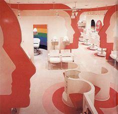 Mod 1970s Salon