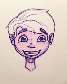 Quick Sketch with Pen on Paper. I used Copic-Markers to color ist. Had no color for the hair...