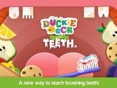 Para unos dientes fuertes y sanos, Duckie Deck With Teeth
