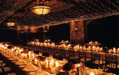 candle lit wedding reception with a touch of italy. Chandeliers, Wedding Reception Lighting, Candlelight Wedding, Marquee Wedding, Reception Ideas, Wedding Decorations, Wedding Ideas, Wedding Inspiration, Wedding Stuff
