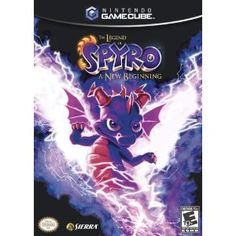 Legend of Spyro A New Beginning [Greatest Hits] (Sony PlayStation Complete Nintendo Game Boy Advance, Nintendo Ds, Nintendo Games, Nintendo Switch, Playstation 2, Xbox 360, Cartoon Network, Juegos Ps2, Wii