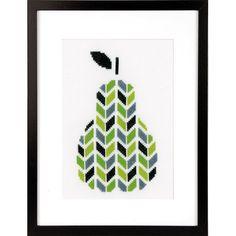 Pear Cross Stitch Kit