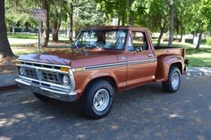 A Brief History Of Ford Trucks – Best Worst Car Insurance 1979 Ford Truck, Old Ford Trucks, Pickup Trucks, Dually Trucks, Truck Drivers, Ford 4x4, Diesel Trucks, Classic Ford Trucks, Chevy Classic