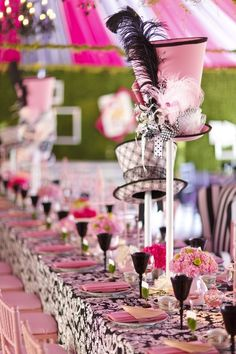mad hatter tea party supplies | marvelous Mad Hatter party or shower. event design: sarah granger ...