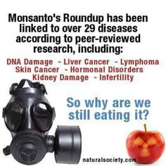 Monsanto..these assholes affect EVERYBODY.